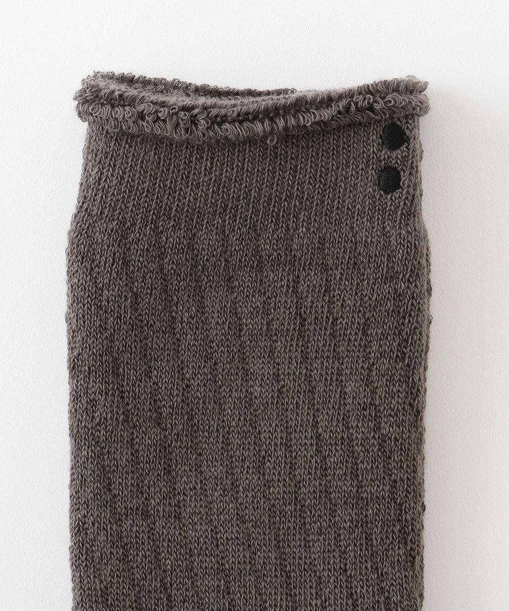 自由区 【Unfilo・SYN:】LONG PILE SOCKS 靴下 グレー系