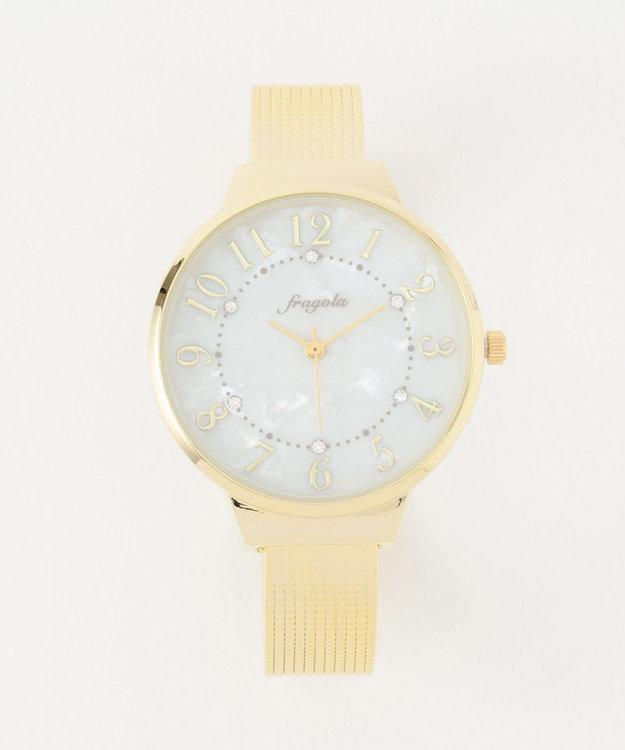 any SiS サークルフレーム バングル ウォッチ(腕時計)
