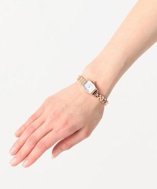 any SiS メタルバンド ウォッチ(腕時計) ピンク系
