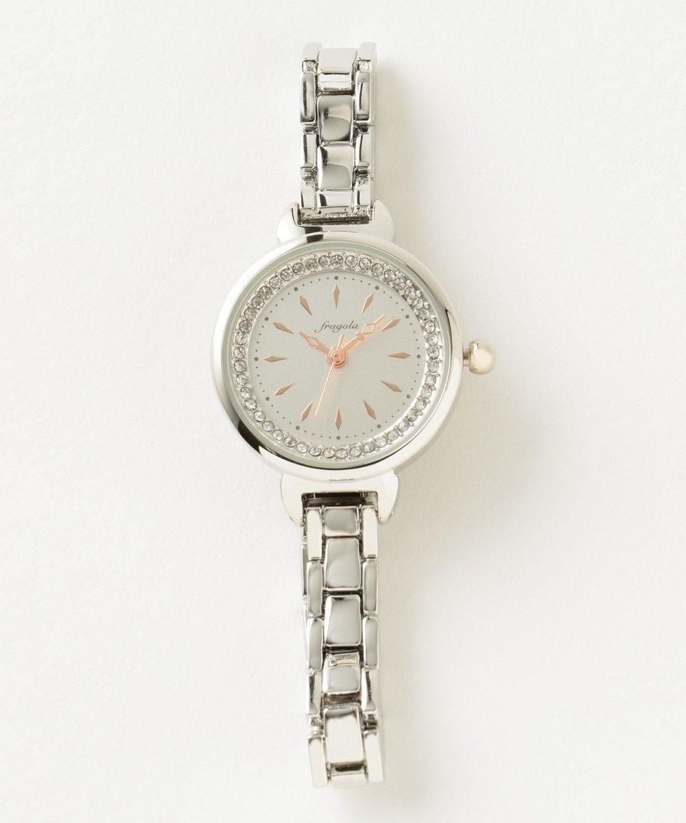 any SiS エレガンス ウォッチ(腕時計) シルバー系