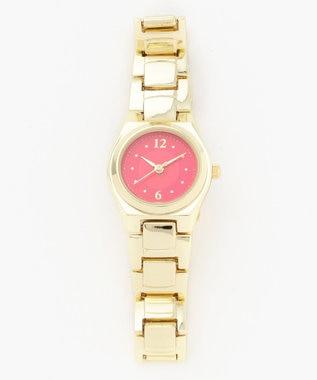any SiS カラーフェイス ウォッチ(腕時計) レッド系