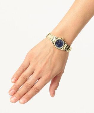 any SiS カラーフェイス ウォッチ(腕時計) ネイビー系