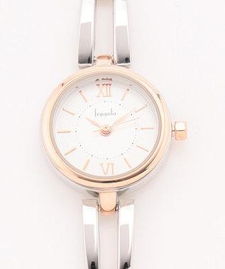 any SiS サークルフレーム ウォッチ(腕時計) ゴールド系