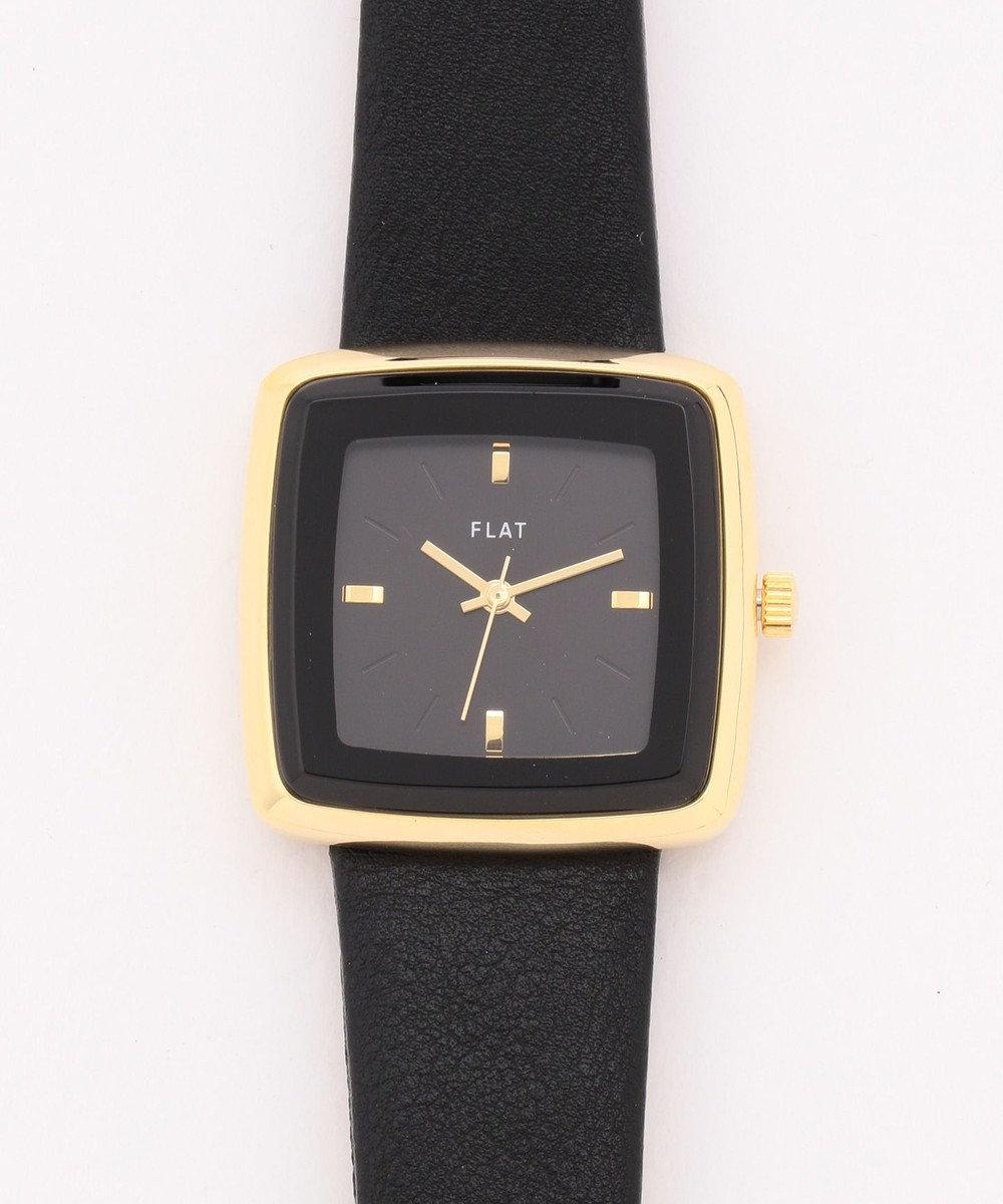 any SiS スクエアフレーム ウォッチ(腕時計) ブラック系