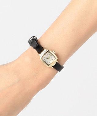 any SiS レトロスクエア ウォッチ(腕時計) ブラック系
