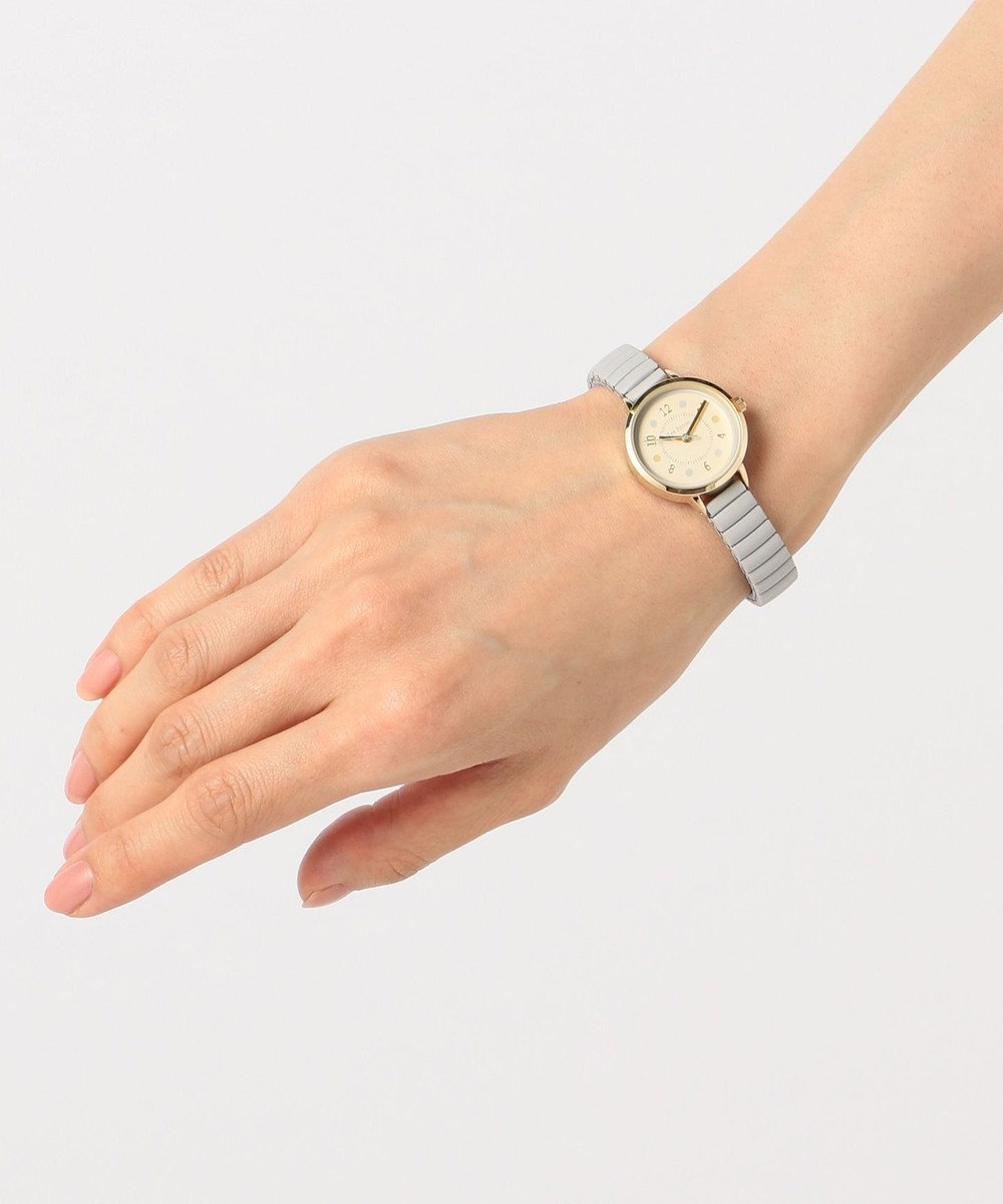 any SiS フェミニンカラー ウォッチ(腕時計) ライトグレー系