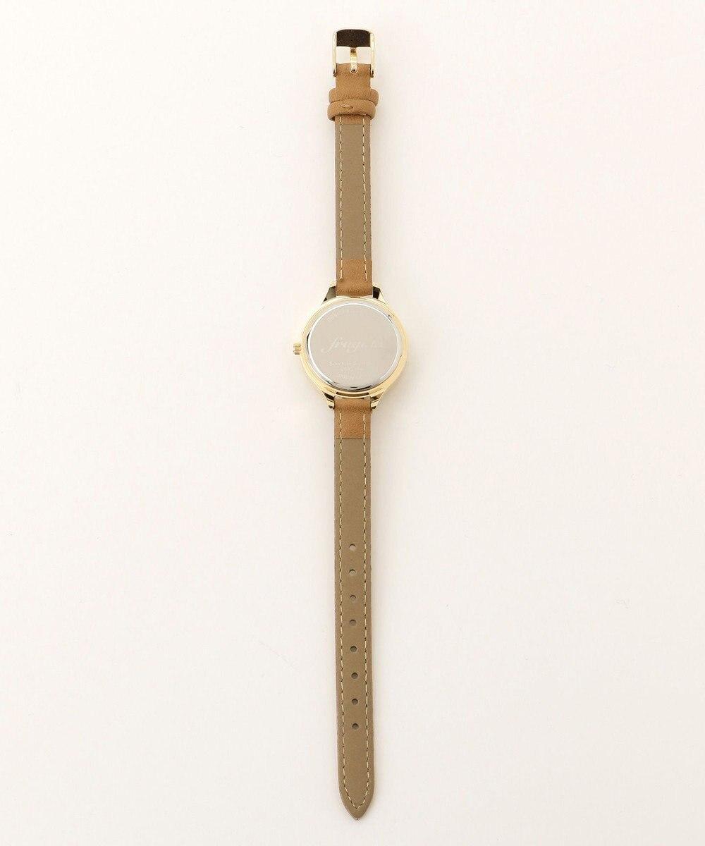 any SiS サークルフェイス ウォッチ(腕時計) ブラウン系
