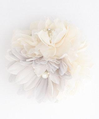 any FAM 【セレモニー】フラワーブーケ コサージュ ライトグレー系