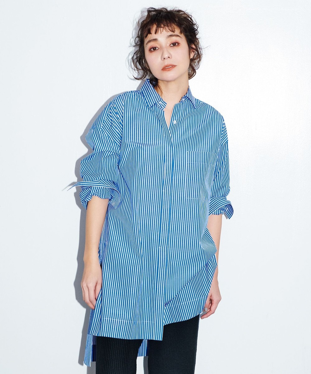 【中村アンさん着用】CANCLINIオーバーサイズシャツ(番号2F24)
