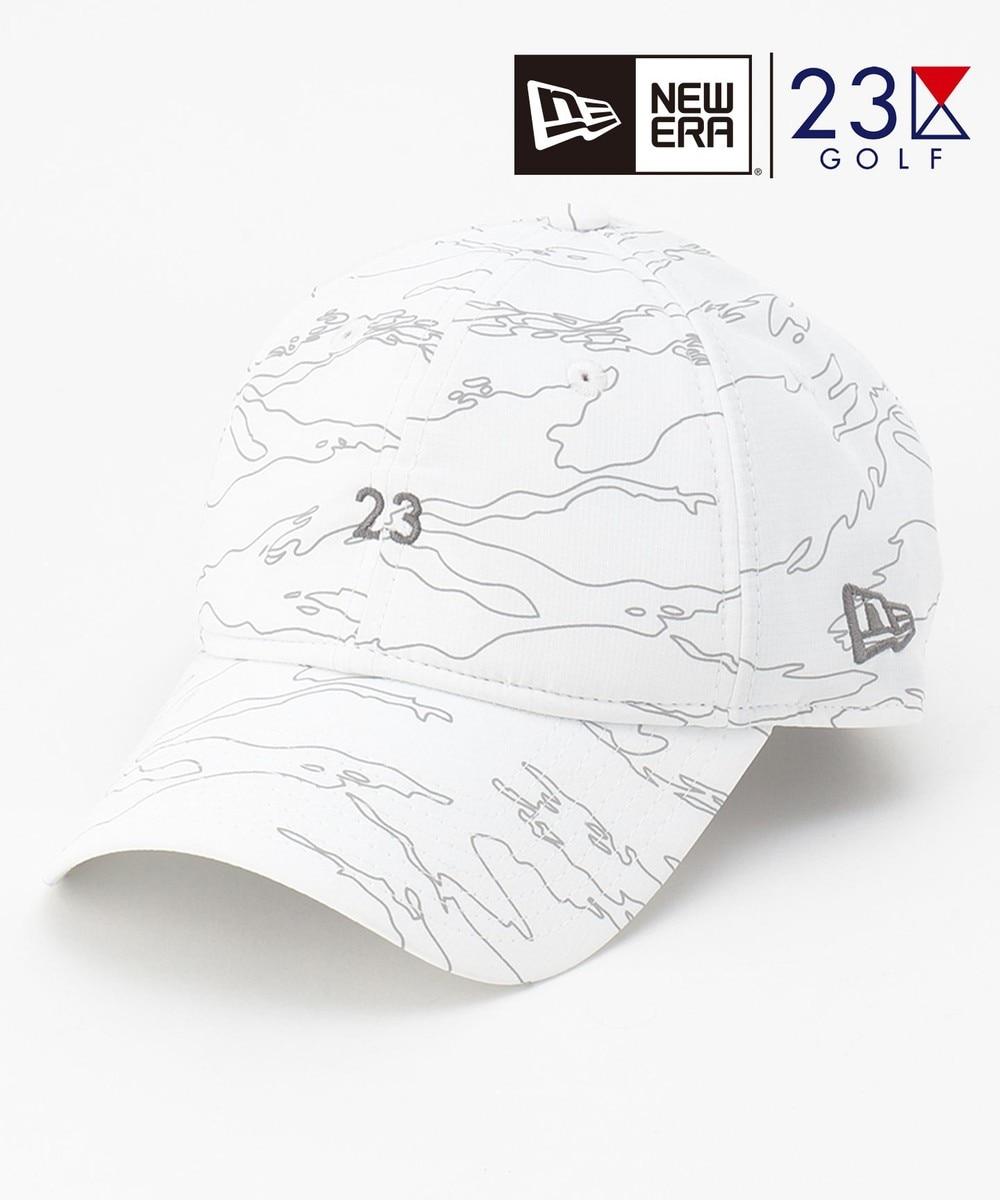 【オンワード】 23区GOLF>帽子 【23区GOLF×NEWERA】コラボキャップ ホワイト F メンズ 【送料無料】