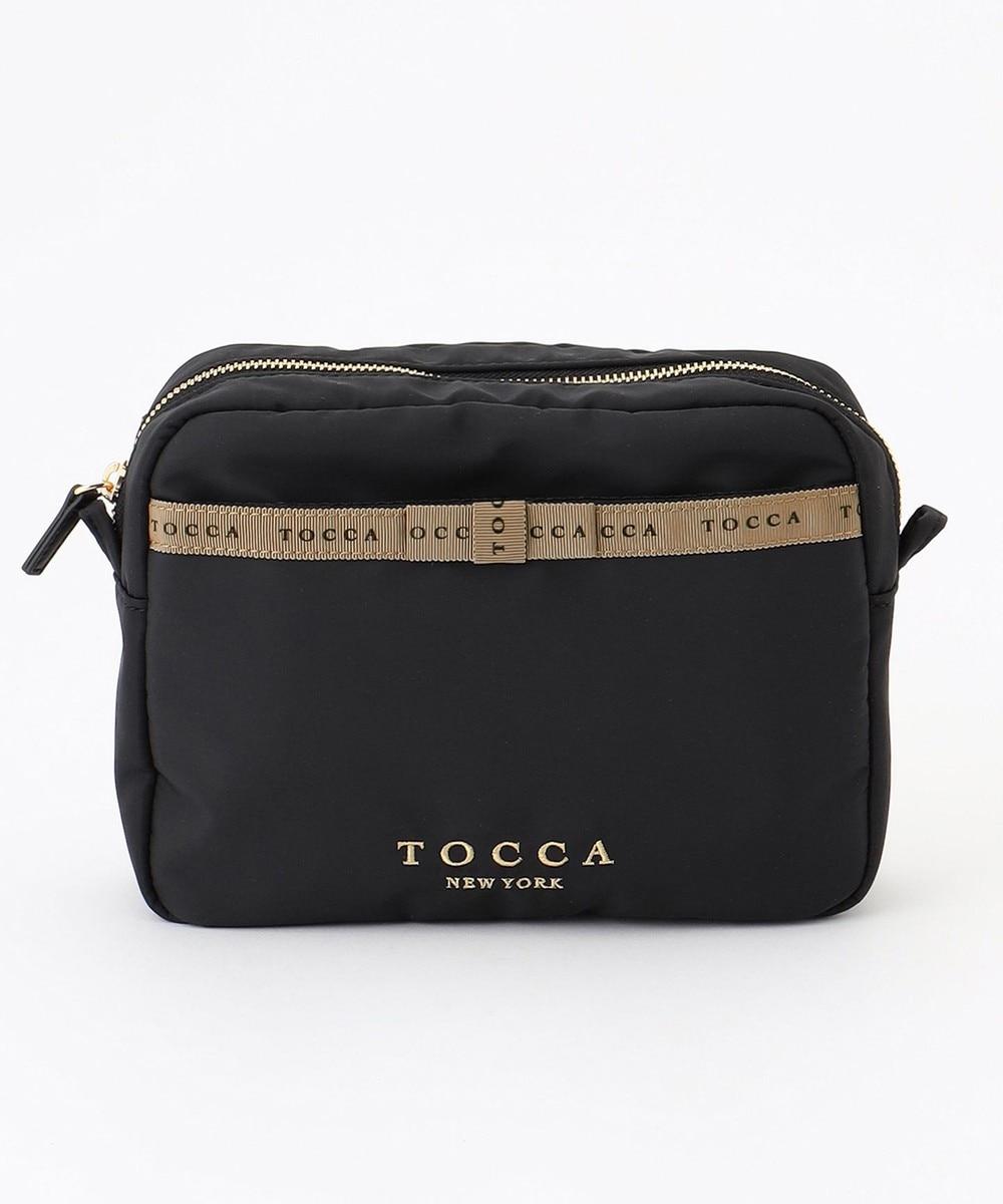 【オンワード】 TOCCA>財布/小物 LOGO RIBBON BAG IN POUCH バッグインポーチ スカイブルー F レディース 【送料無料】