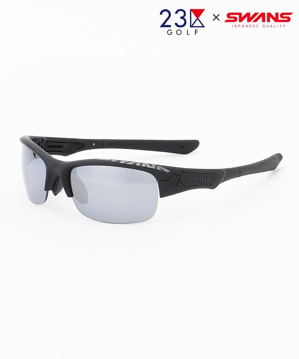 【オンワード】 23区GOLF>ファッション雑貨 【UNISEX】【23区GOLF×SWANS】スペシャルコラボ サングラス(黒) ブラック F メンズ 【送料無料】