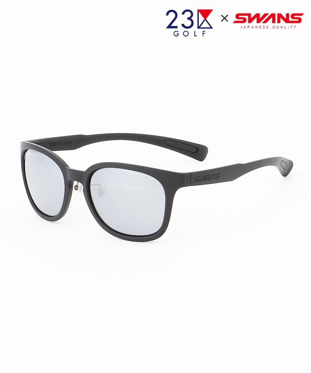 【オンワード】 23区GOLF>ファッション雑貨 【UNISEX】【23区GOLF×SWANS】スペシャルコラボ サングラス(黒) ブラック F レディース 【送料無料】