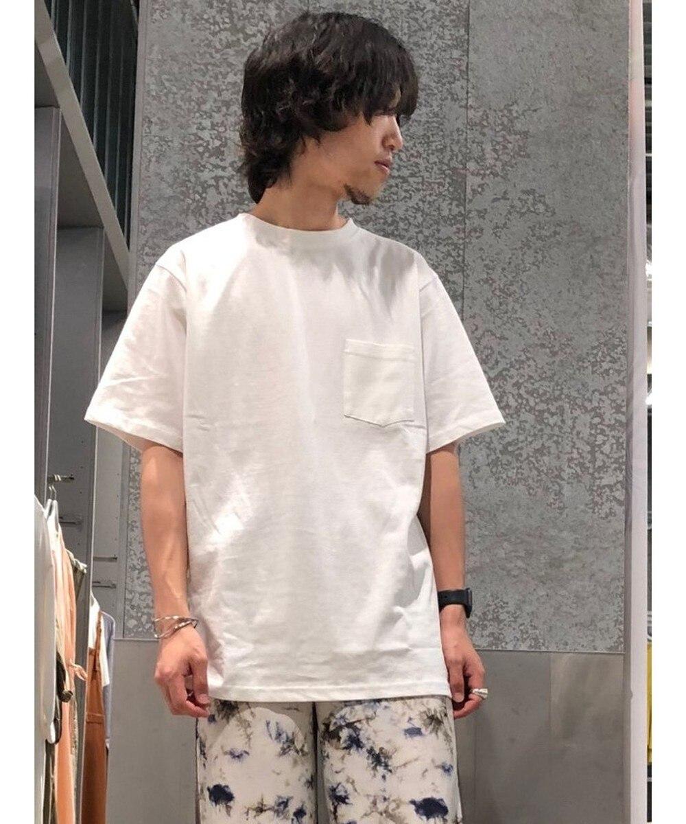 【オンワード】 koe>トップス オーガニックコットンクルーバインダーTシャツ White M メンズ 【送料無料】