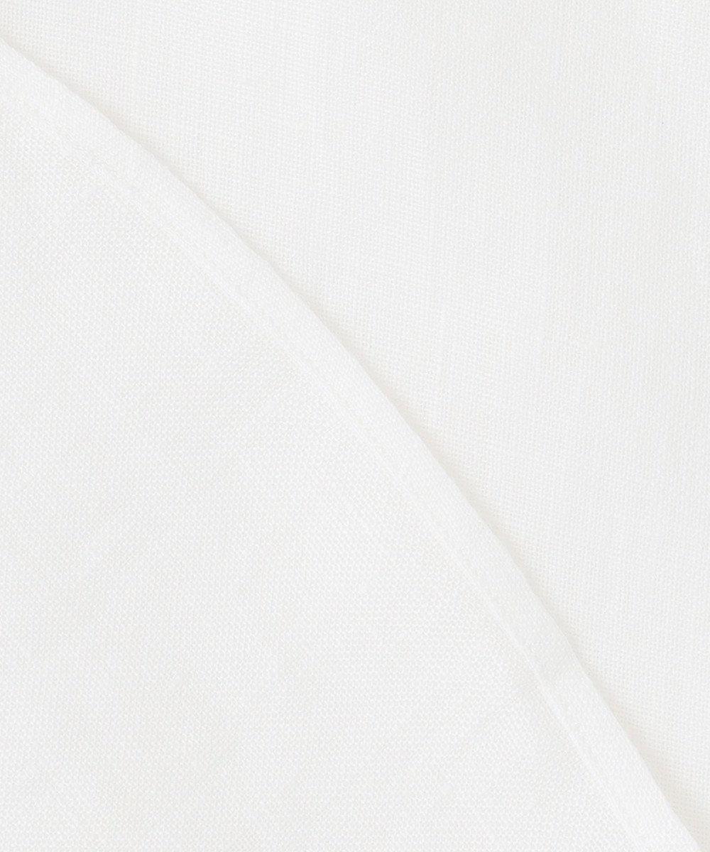 23区 【ユニセックス】LIBECO 半袖 シャツ(番号2T28) ホワイト系