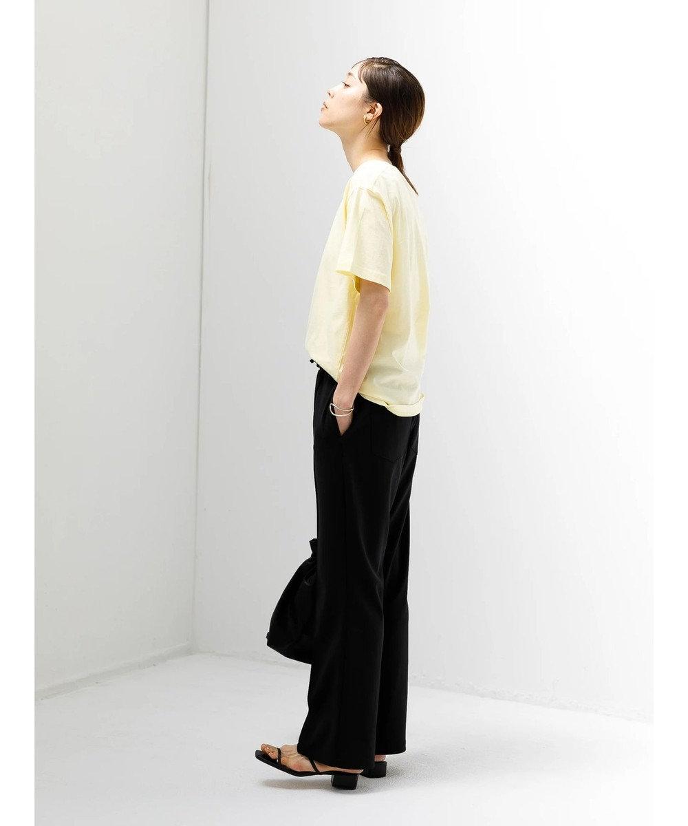 koe 抗菌防臭オーガニックコットンクルーネックTシャツ Yellow