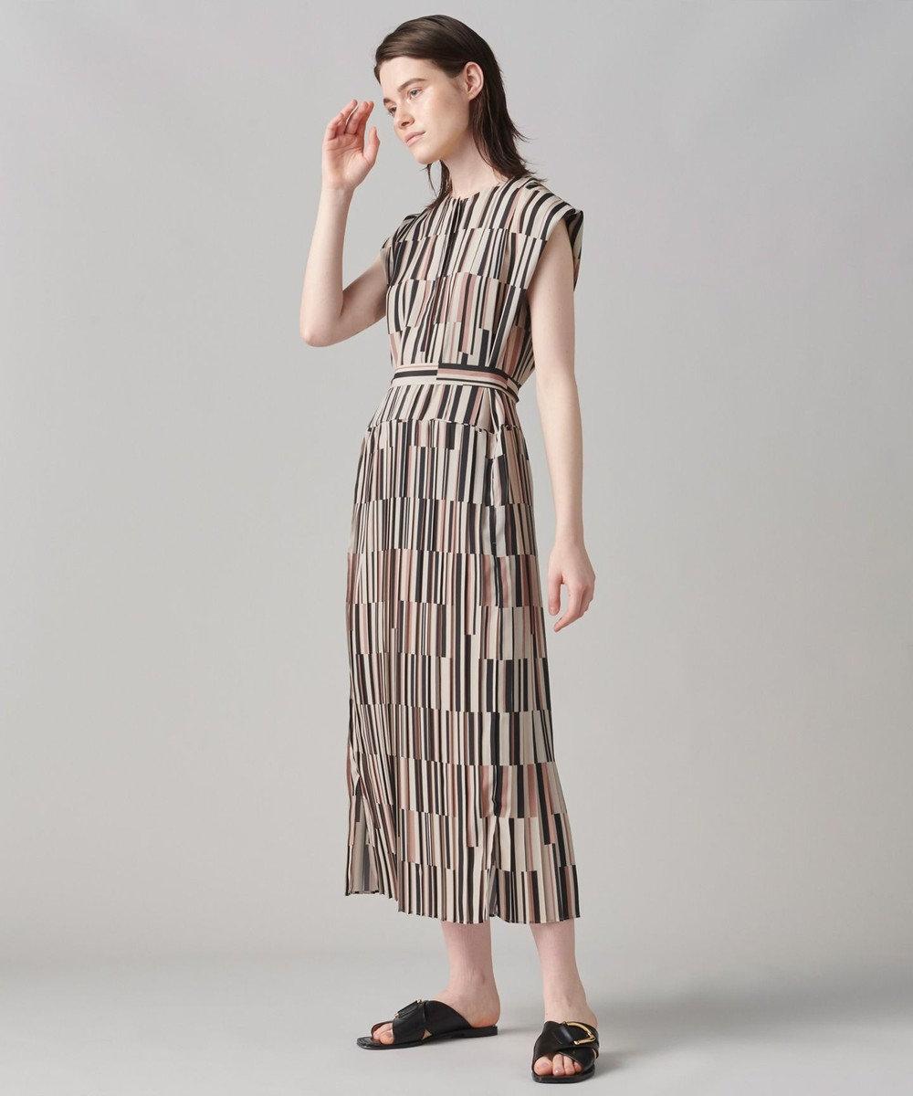 JOSEPH 【洗える】アッセンブラージュプリントドレス ベージュ系5