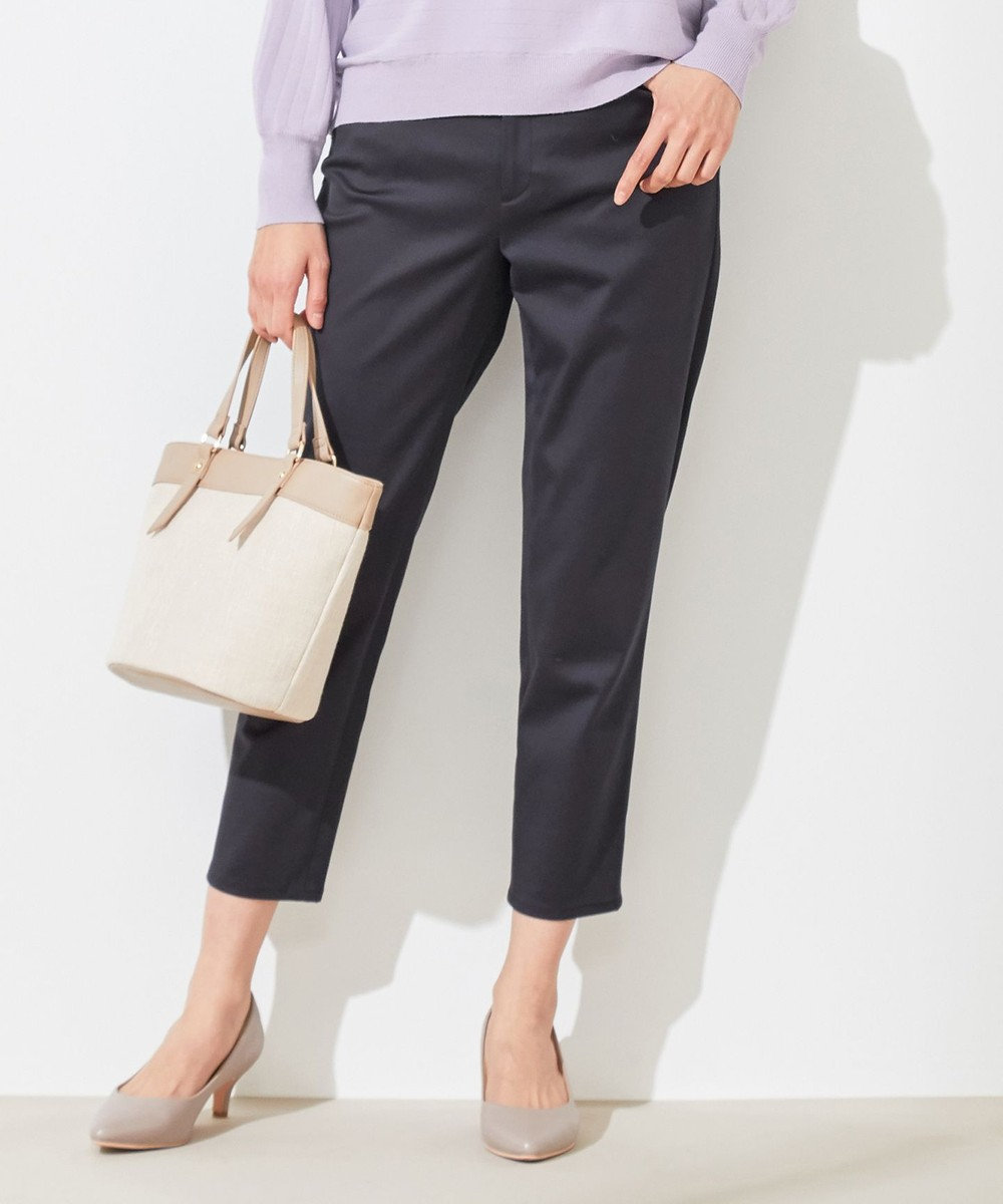 any SiS L 【洗える】エバービューティ パンツ ネイビー系