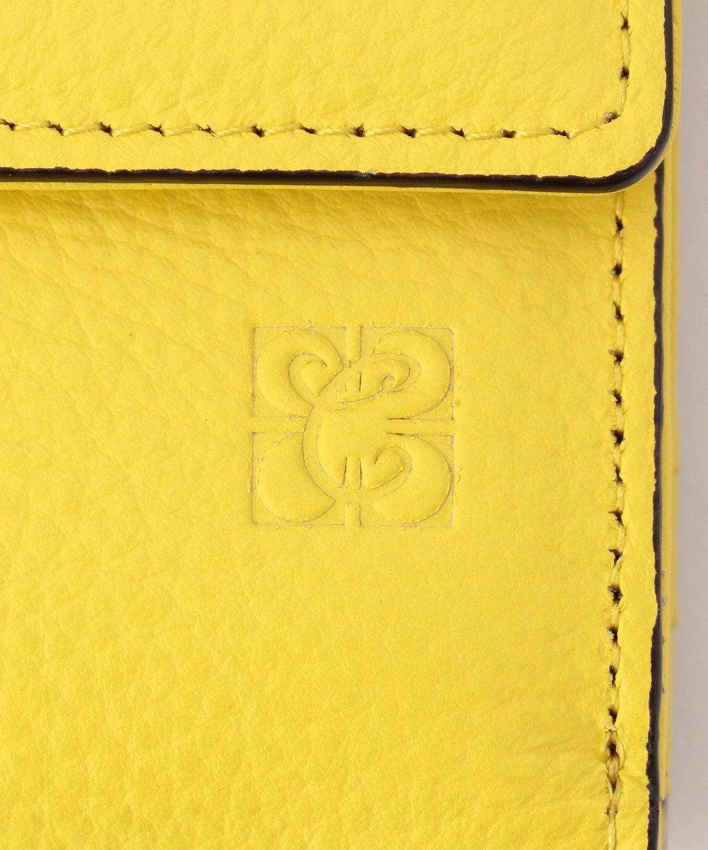 CYPRIS 【カード収納枚数9枚】キアーロ 日本製 外小銭入れ付き二つ折り財布 イエロー[08]