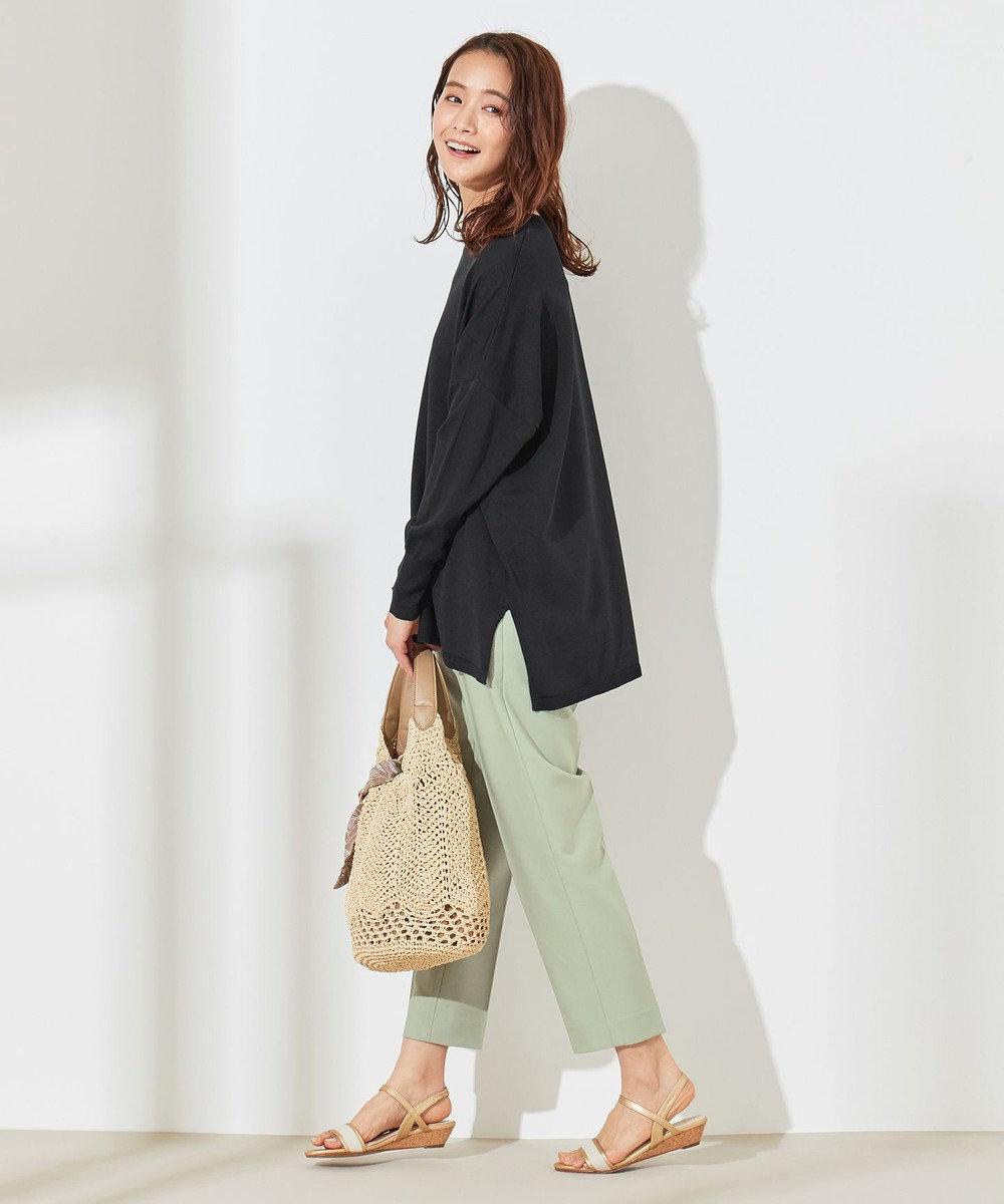any SiS S 【美人百花5月号掲載】2WAYレディテーパード パンツ ミント