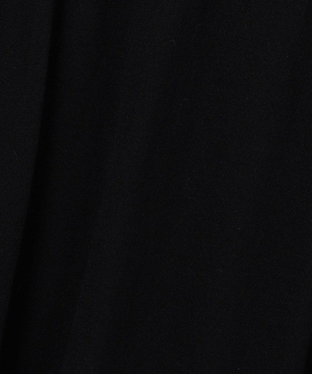 23区 S 【マガジン掲載】コットンリネンシアーニット ワンピース(番号K64) ブラック系