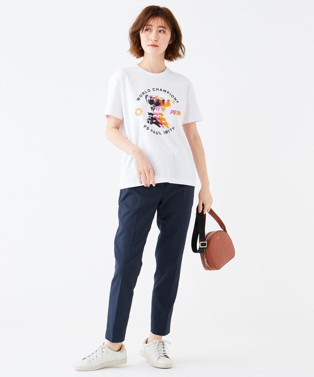 Paul Smith 【洗える!】 アートTシャツ ホワイト系