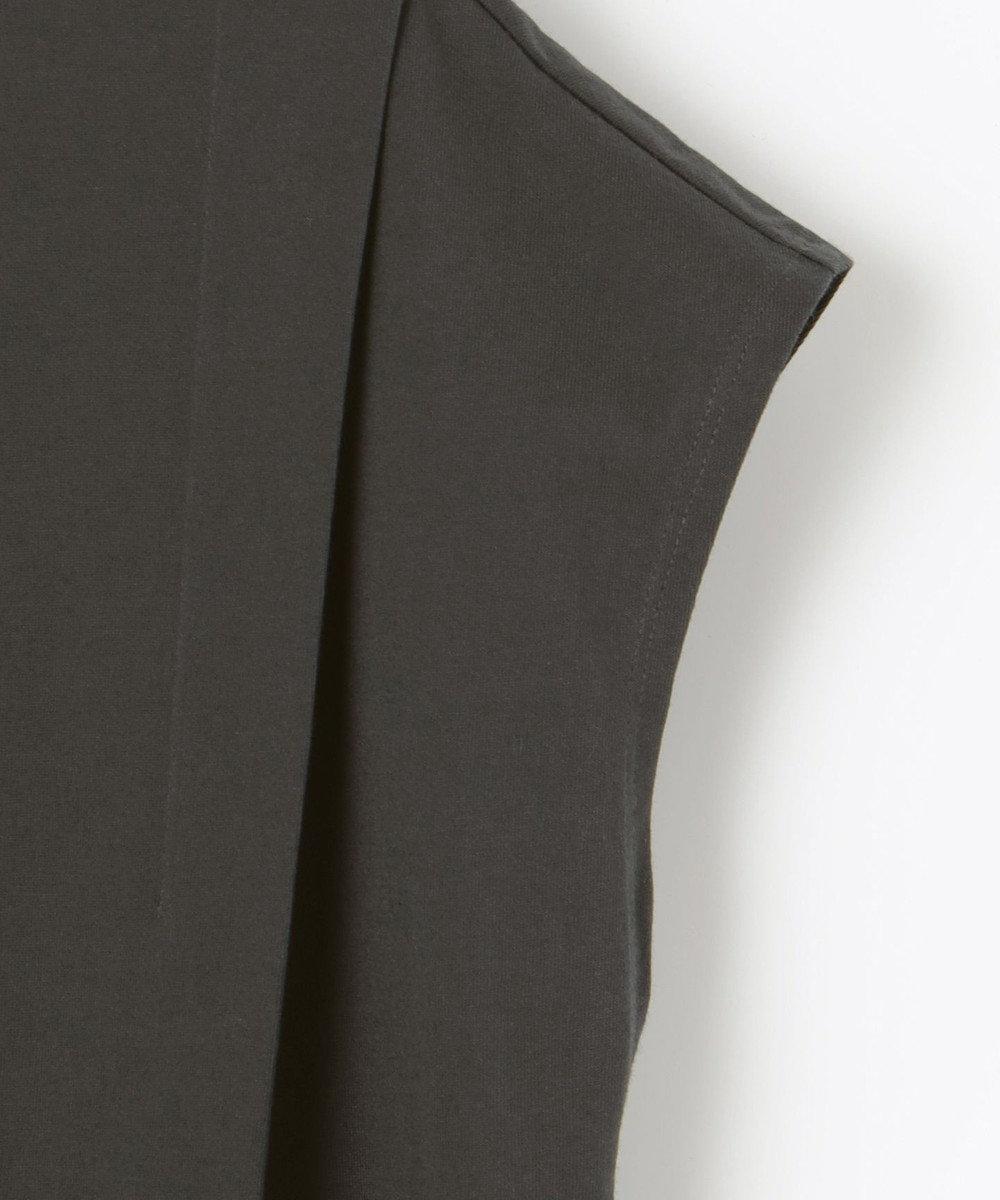 any SiS L 【L'aube】ショルダータック ワンピース グレー系