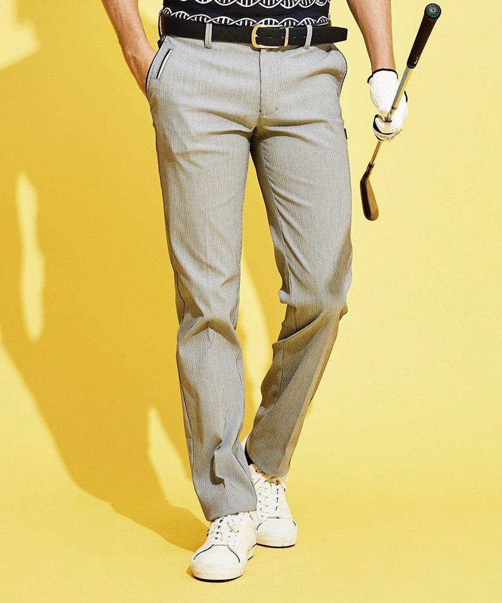 23区GOLF 迷ったら、まずこれ!【MEN】ハイパワーストレッチ パンツ ネイビー系