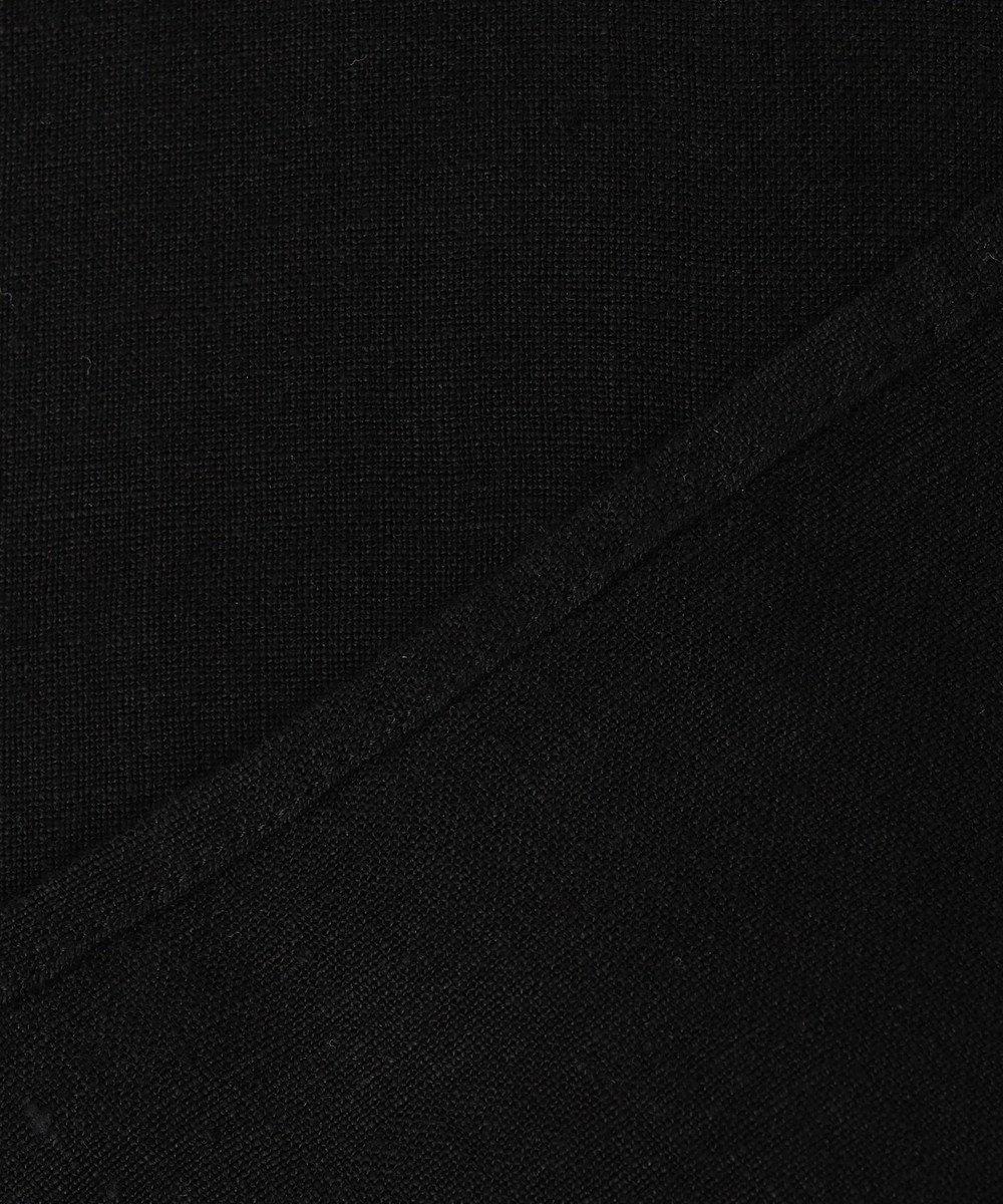 23区 S 【マガジン掲載】LIBECO バックボタン ブラウス(番号2K23) チャコールグレー系