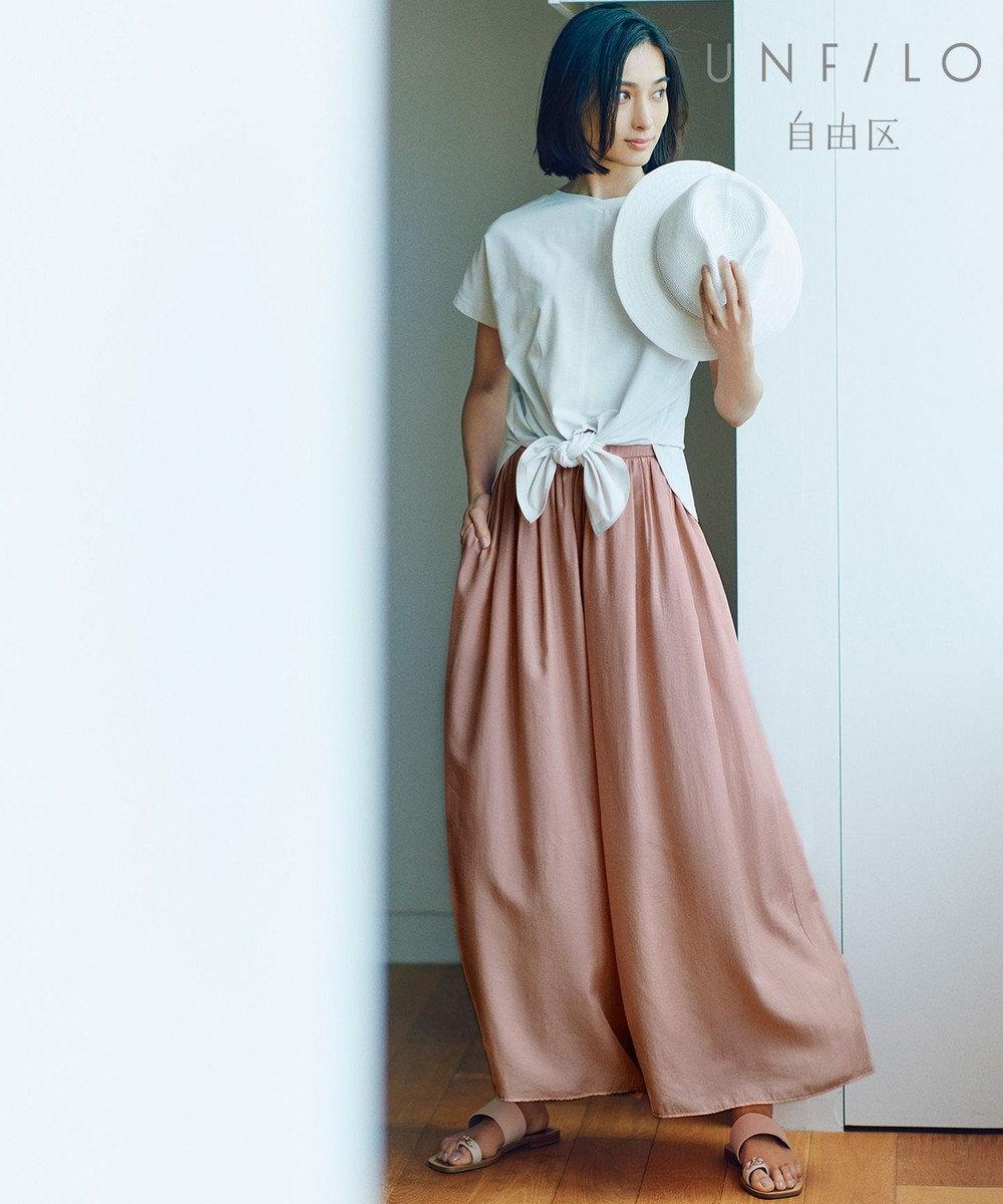 自由区 【CORSO ROMA】フラット レザー サンダル(検索番号:JH46) ピンク系