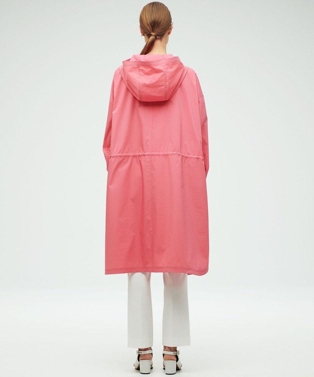 23区 【23区 lab.】TCストレッチ ボリュームフーディー コート(番号S66) ピンク系