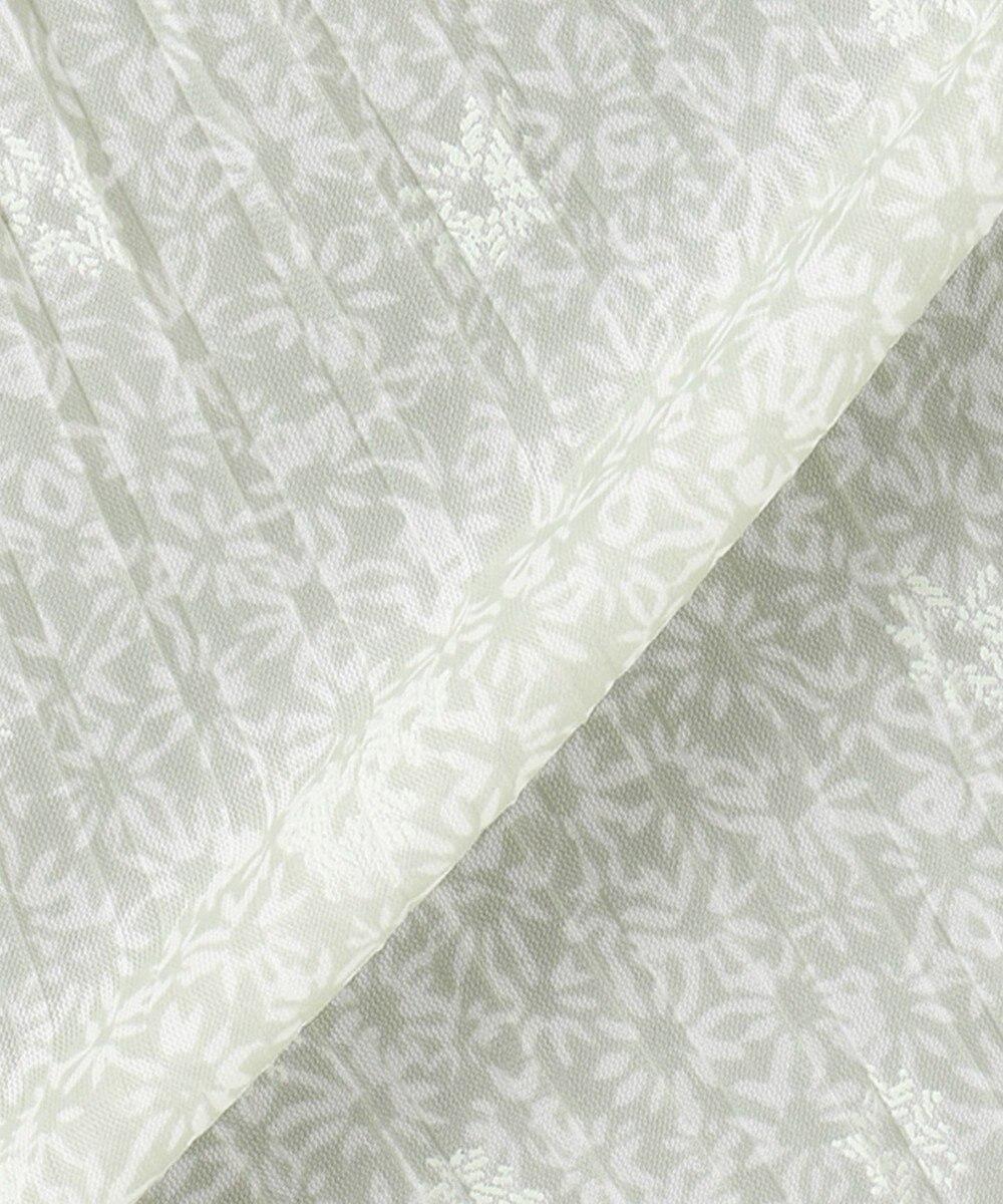 any SiS 【洗える】刺繍風ミニフラワープリント スカート ミント
