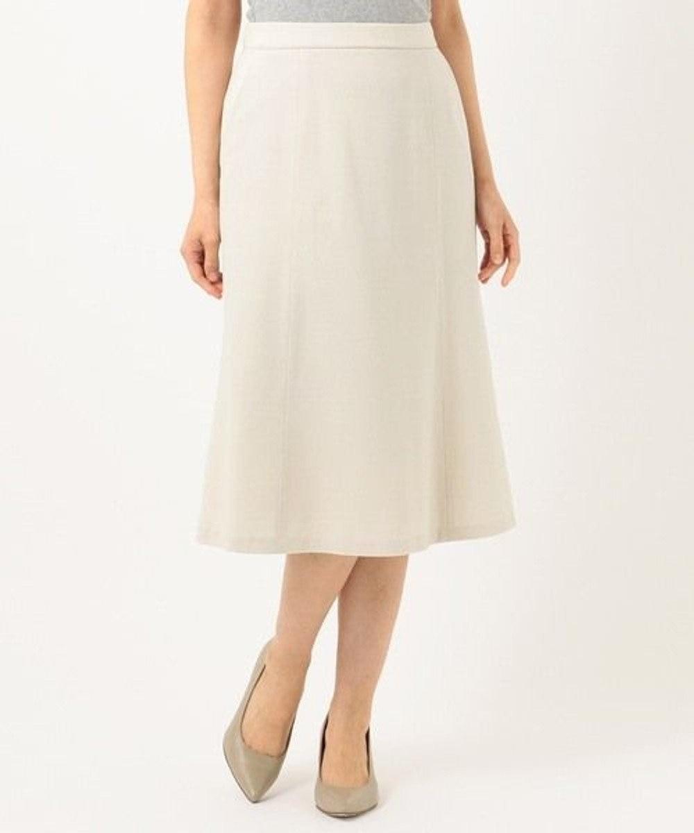自由区 【Sサイズ有】360°FREE ウォッシャブル スカート ベージュ系