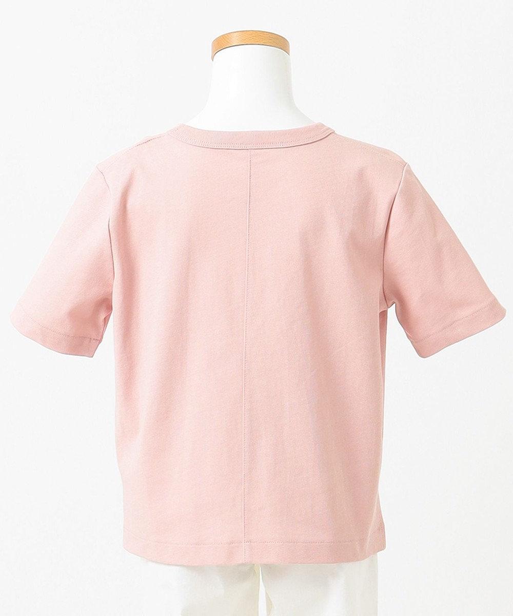 組曲 KIDS 【KMKK/110-130cm】ハイツイストコットン天竺Tシャツ(番号KK74) ピンク系