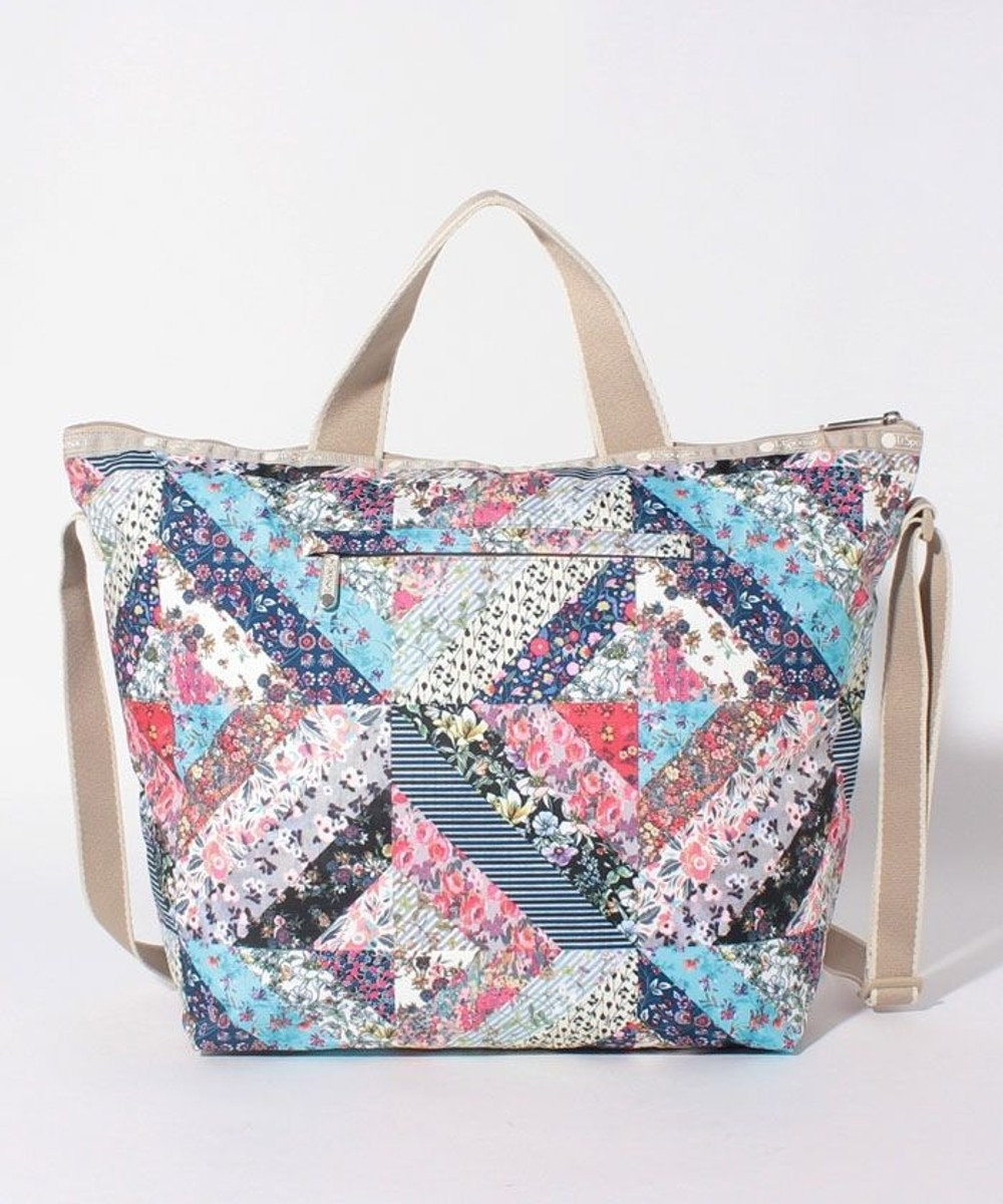 LeSportsac DELUXE EASY CARRY TOTE/メモリー フローラル キルト メモリー フローラル キルト
