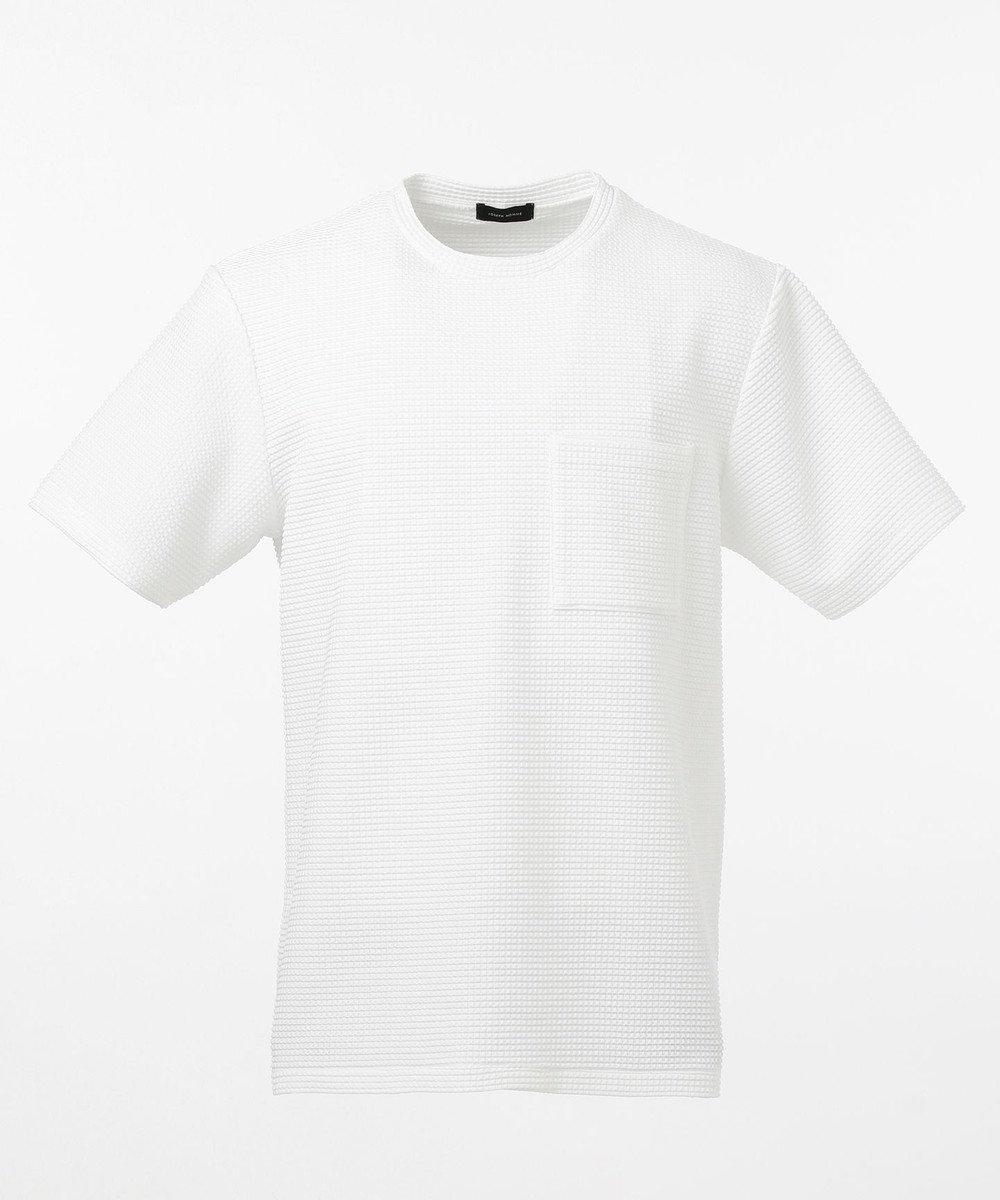 JOSEPH HOMME ライトタックジャージー クルーネックTシャツ ホワイト系