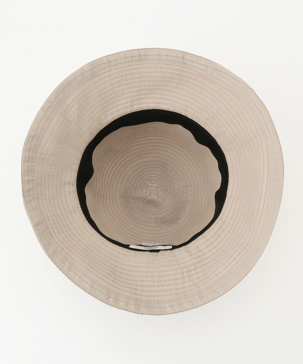 J.PRESS LADIES 【洗える・UV加工・畳める】ブレードHAT 帽子 ベージュ系