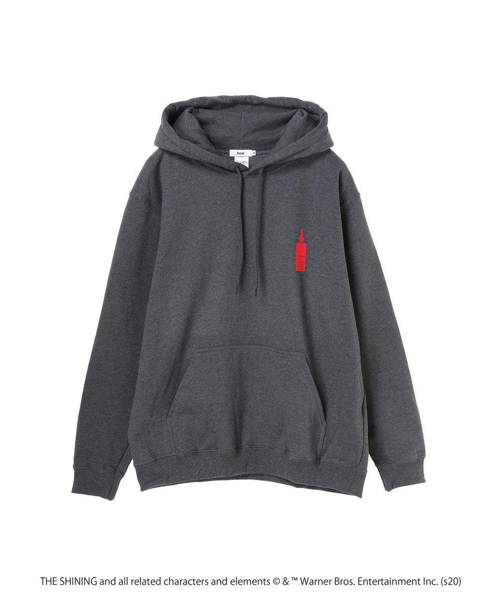 koe shining hotel map movie hoodie Charcoal Gray