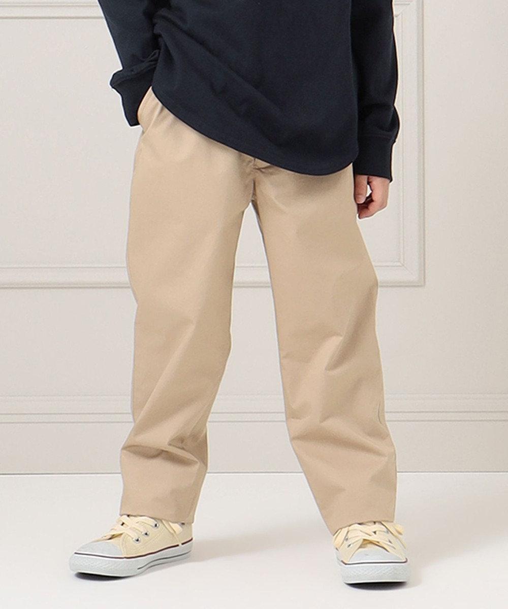J.PRESS KIDS 【140-170cm】40/-ツイル フルレングス パンツ ベージュ系