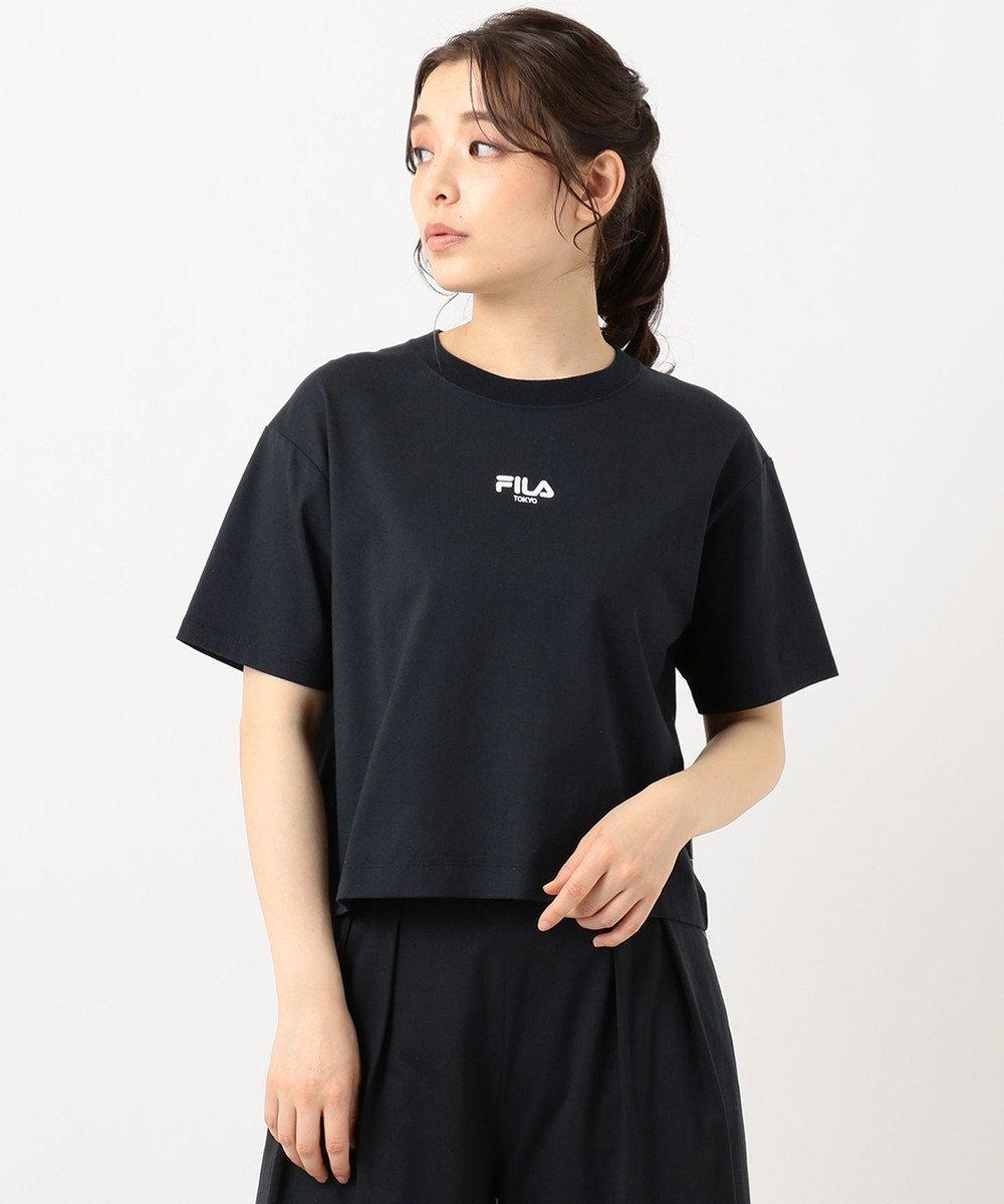 組曲 【FILA別注】ロゴ カットソー  ネイビー系