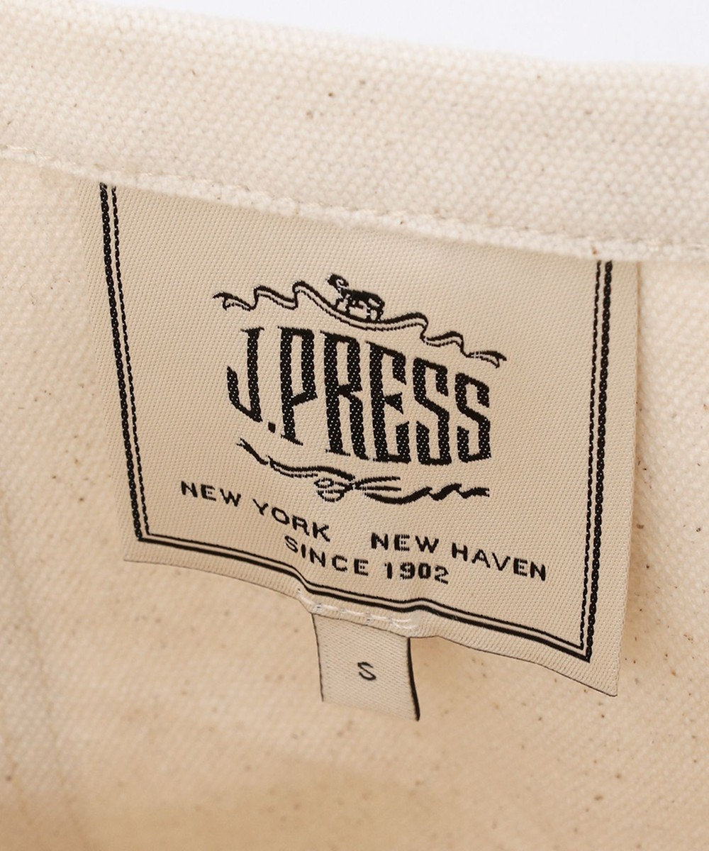 J.PRESS MEN 【J.PRESS×YALE】デイリーキャンパストート S アイボリー系