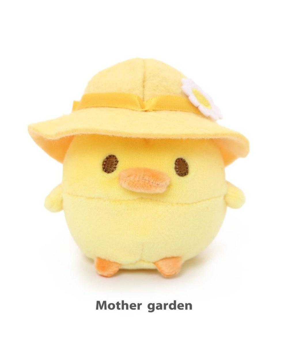 Mother garden マザーガーデン こぴよフレンズ こぴよ 麦わら マスコット ちび マスコット ぬいどり ぬい撮り かわいい 小さい ぬいぐるみ 手のひらサイズ 鳥雑貨 おもちゃ 子供 子ども キッズ プレゼント 誕生日プレゼント 黄色
