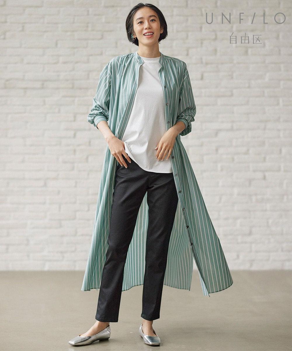 自由区 【UNFILO/Sサイズ有】ノースリーブ ティーシャツ ホワイト系