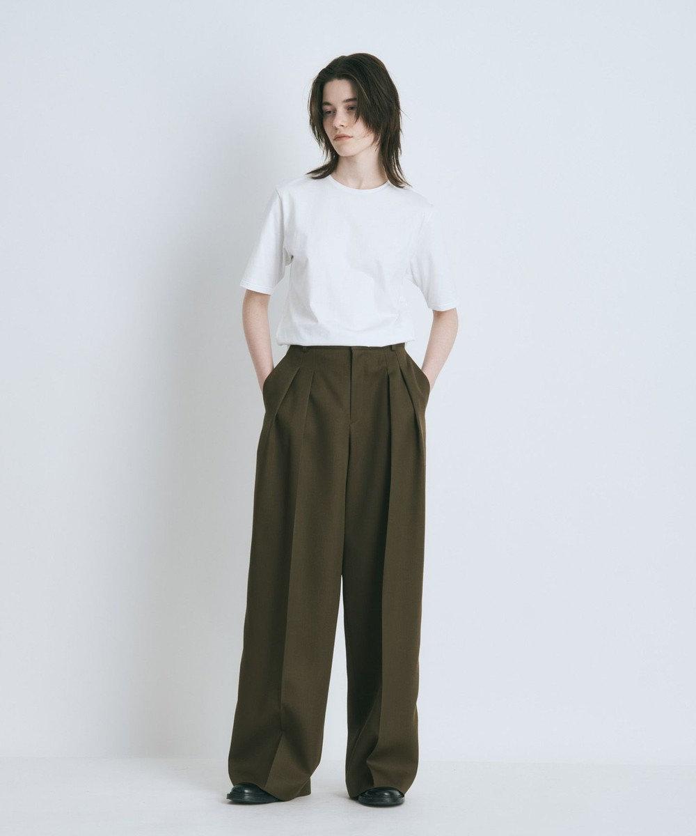 ATON SUVIN 60/2 | パーフェクトショートTシャツ WHITE