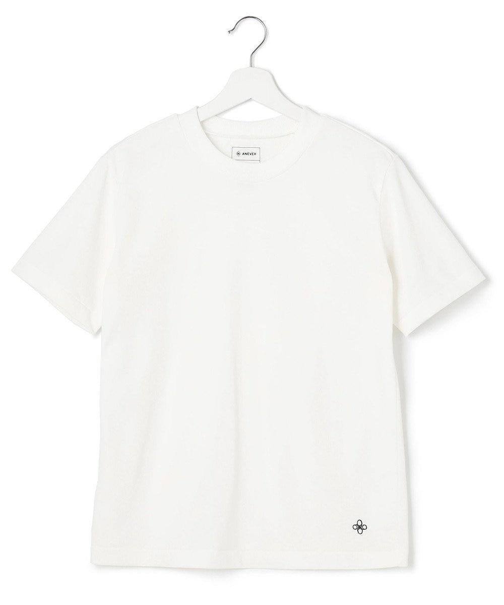 ANEVER 【SEDUM】洗える パッケージTシャツ ホワイト系