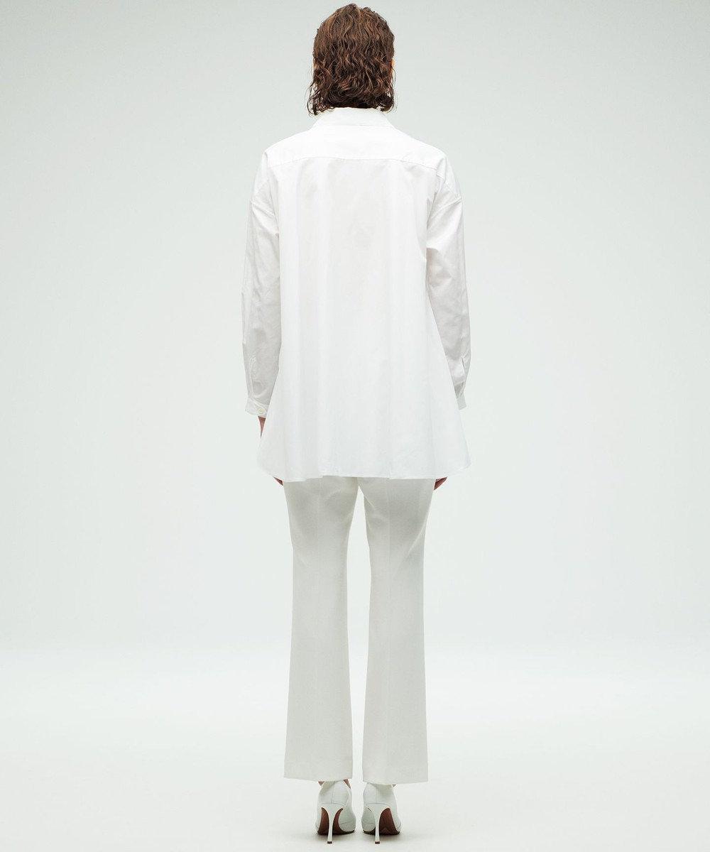 23区 【23区 lab.】ハイカウントブロード 前後差 シャツ(番号S54) ホワイト系