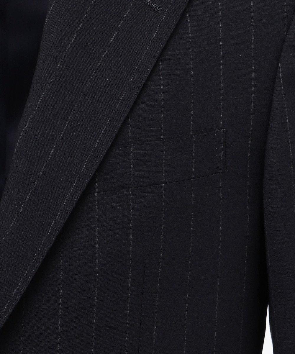 J.PRESS MEN 【一部店舗・WEB限定】エクストラファインチョークストライプ スーツ ネイビー系2