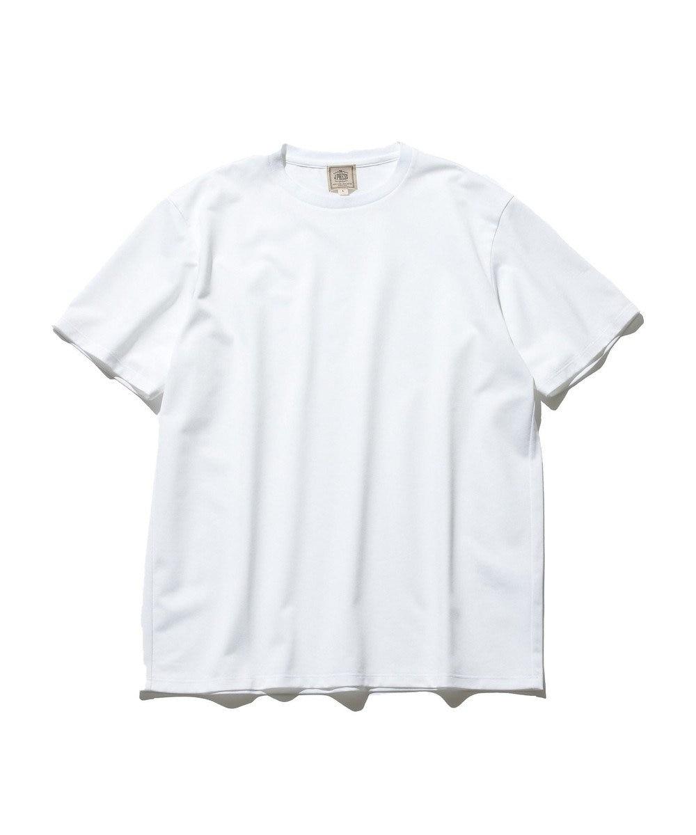 J.PRESS MEN 【J.PRESS PLUS】OX シャンブレージャージ Tシャツ ホワイト系