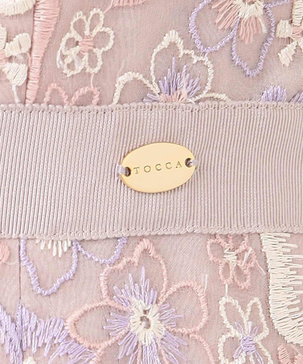 TOCCA 【洗える!】PRIMULA ドレス ピンク系7