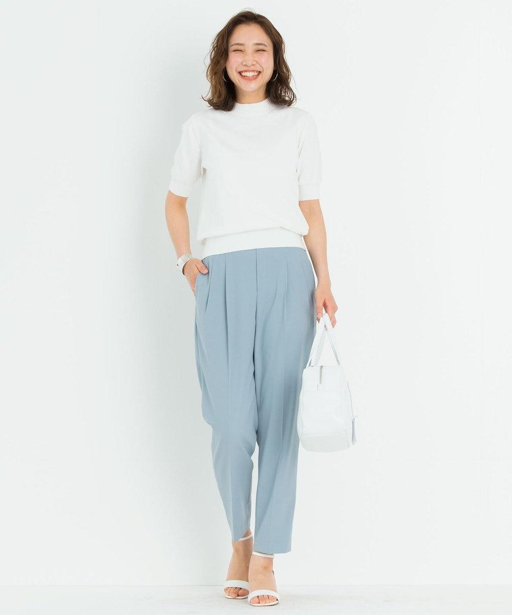 23区 【ONWARD MAG】イットパンツ ターコイズブルー系